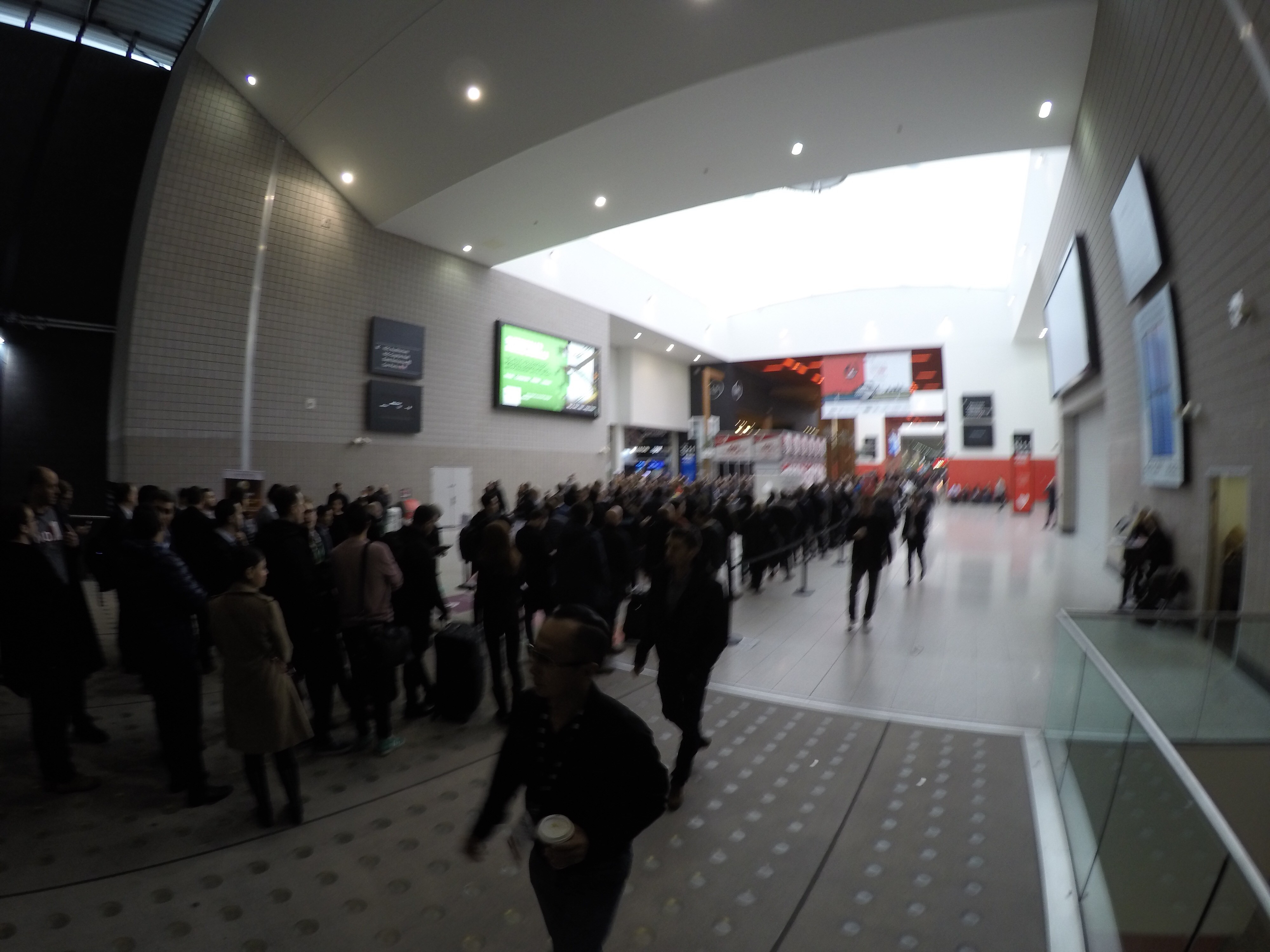 London Affiliate Conference February 2017 - Waiting Line - part 3