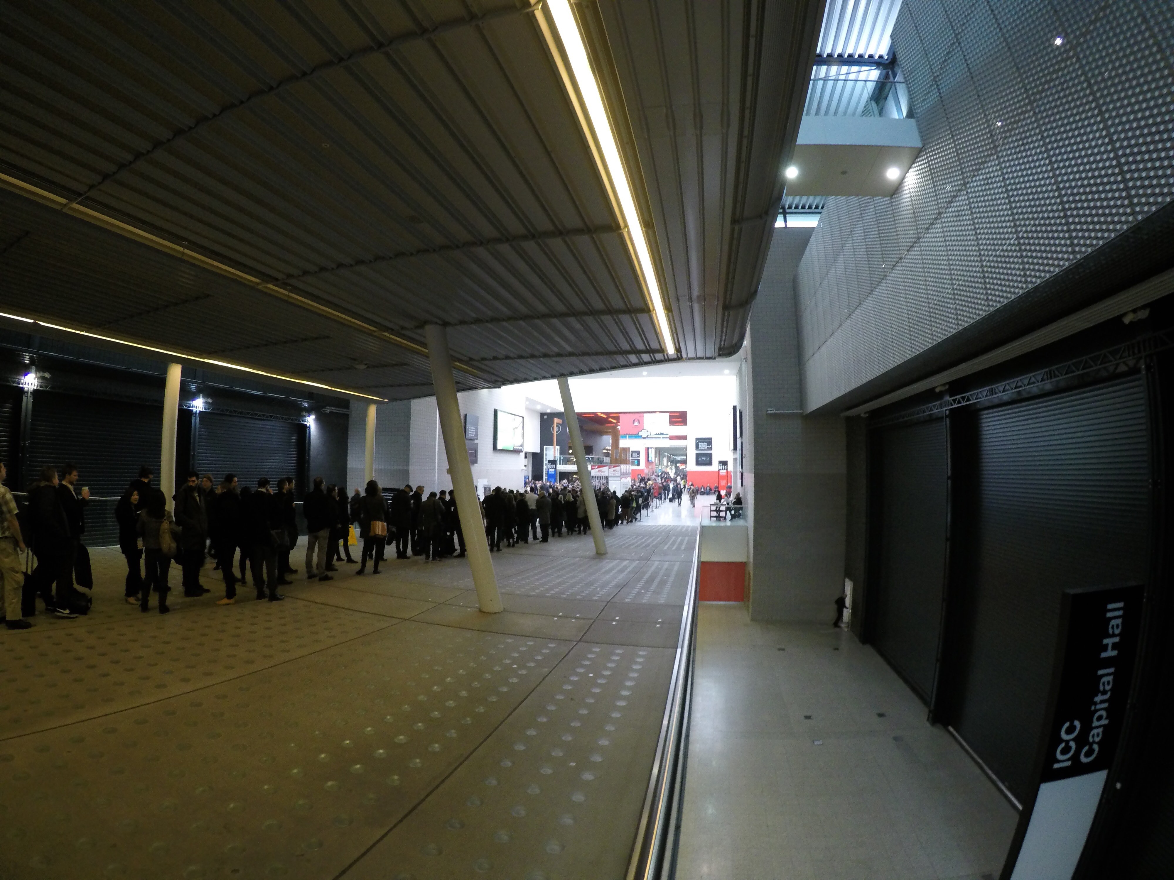 London Affiliate Conference February 2017 - Waiting Line - part 6